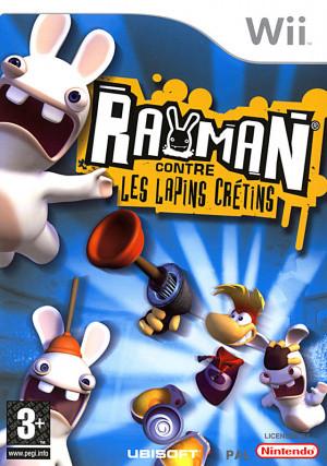 Rayman contre les Lapins Crétins sur Wii