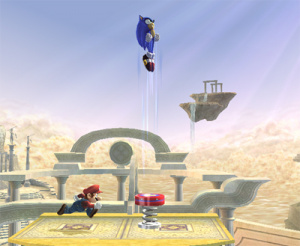 Images : Super Smash Bros Brawl : Sonic