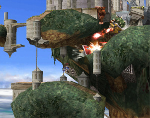Images : Super Smash Bros Brawl : stages Mêlée