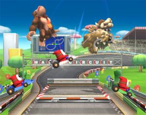 Images : Super Smash Bros Brawl : gare aux karts