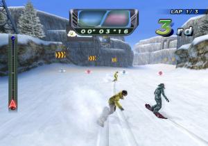 Hudson Soft annonce Snowboard Riot