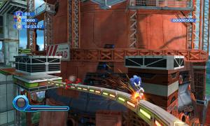 Sonic se rapproche de Mario
