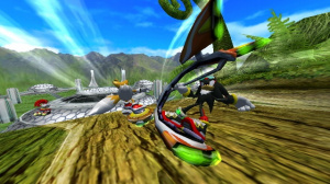 Images : Sonic Riders Zero Gravity sur orbite