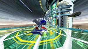Images : Sonic ride sans gravité