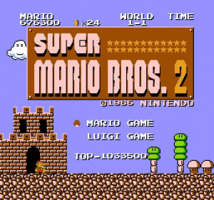 Oldies : Super Mario Bros. : Lost Levels