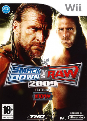 WWE Smackdown vs Raw 2009 sur Wii