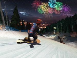 GC 2008 : Images de Shaun White Snowboarding