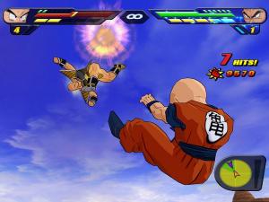 DBZ Budokai Tenkaichi 2 en mars 2007 sur Wii