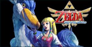 Jaquette de The Legend of Zelda : Skyward Sword sur Wii