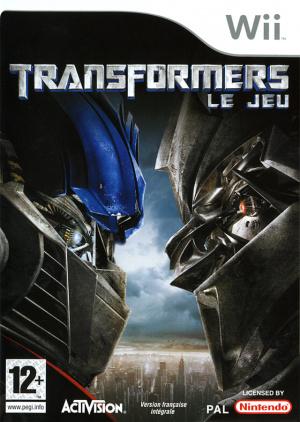 Transformers : Le Jeu sur Wii