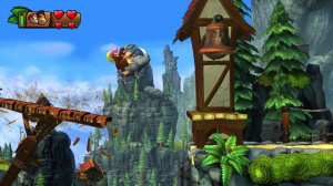 Rambi rempile dans Donkey Kong : Tropical Freeze