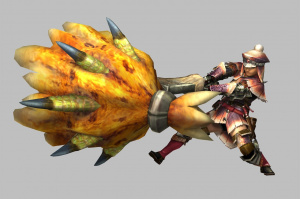 "Monster Hunter 3 Ultimate : Présentation du ""light bowgun"""