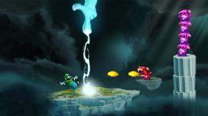 Des costumes Mario et Luigi dans Rayman Legends