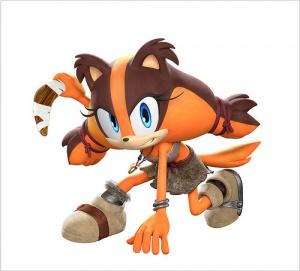 Un nouveau personnage dans Sonic Boom