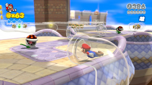 Super Mario 3D World en images et en Wiimote