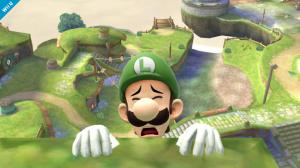 Luigi sera de la partie dans Super Smash Bros.