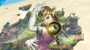 Zelda se montre dans Super Smash Bros.