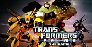 Jaquette de Transformers Prime : The Game sur Wii