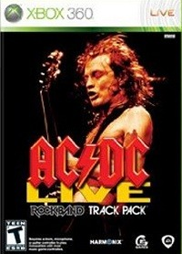 AC/DC Live : Rock Band Track Pack sur 360