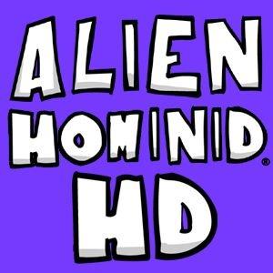 Alien Hominid HD sur 360