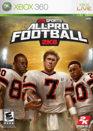 All-Pro Football 2K8 sur 360