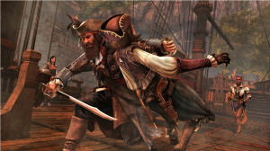 Barbe Noire attaque Assassin's Creed IV