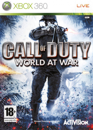Call of Duty : World at War sur 360