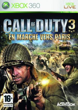 Call of Duty 3 : En Marche vers Paris sur 360