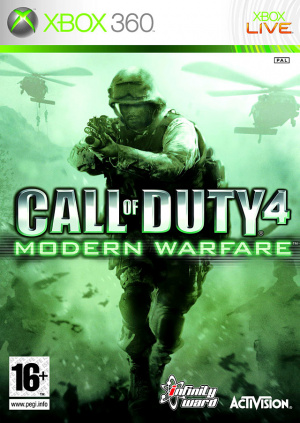 Call of Duty 4 : Modern Warfare sur 360