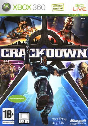 Crackdown sur 360