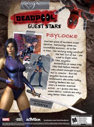 Psylocke et Mister Sinister rejoignent Deadpool