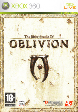 The Elder Scrolls IV : Oblivion sur 360