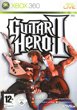 Guitar Hero II sur 360