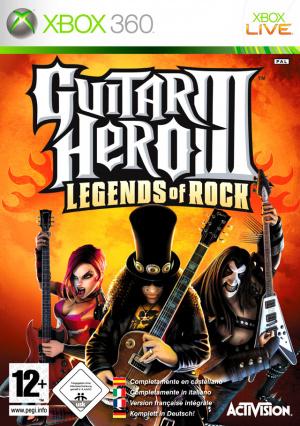 Guitar Hero III : Legends of Rock sur 360