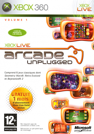 Xbox Live Arcade Unplugged sur 360