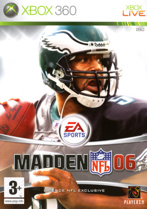 Madden NFL 06 sur 360