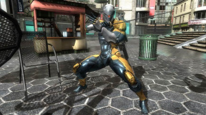 Gray Fox dans Metal Gear Rising en Europe et en Australie