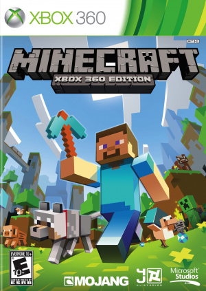 Minecraft 360 en version boîte aux US