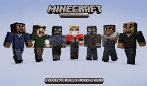 Des skins Walking Dead dans Minecraft