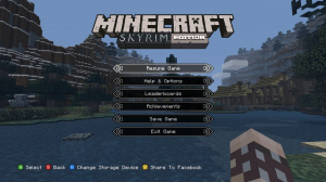 Minecraft à la sauce Skyrim sur 360