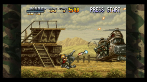 Images : Metal Slug 3 sur le Live