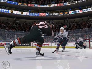 NHL 2k6 : un peu de fraîcheur