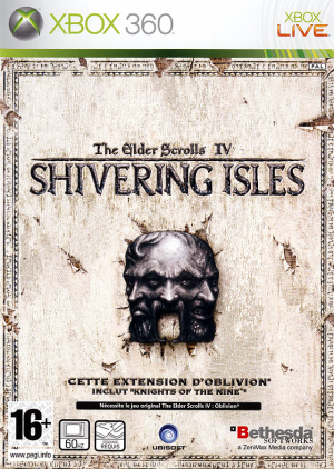 The Elder Scrolls IV : Oblivion : The Shivering Isles sur 360