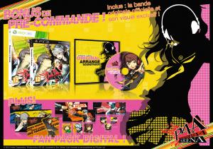 Encore des détails sur la précommande de Persona 4 Arena