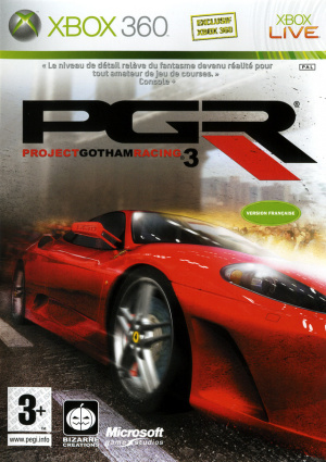 Project Gotham Racing 3 sur 360