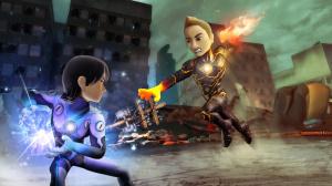 PowerUp Heroes : les avatars se battent avec Kinect