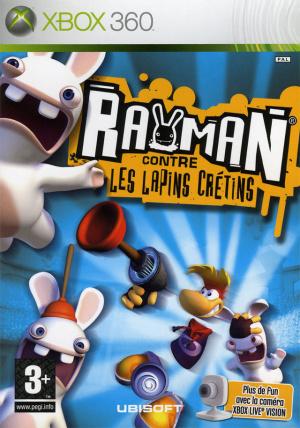 Rayman contre les Lapins Crétins sur 360