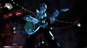 Rock Band : la guitare branchée