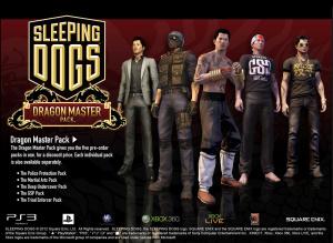 Les packs de Sleeping Dogs