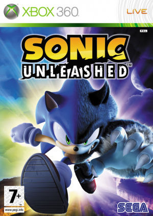 Sonic Unleashed sur 360